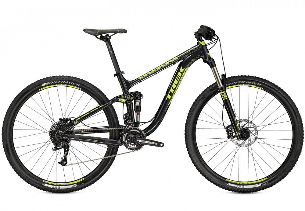 Велосипед Fisher'15 Fuel EX 5 29 19.5 Trek Black/Volt Green MFS 29""