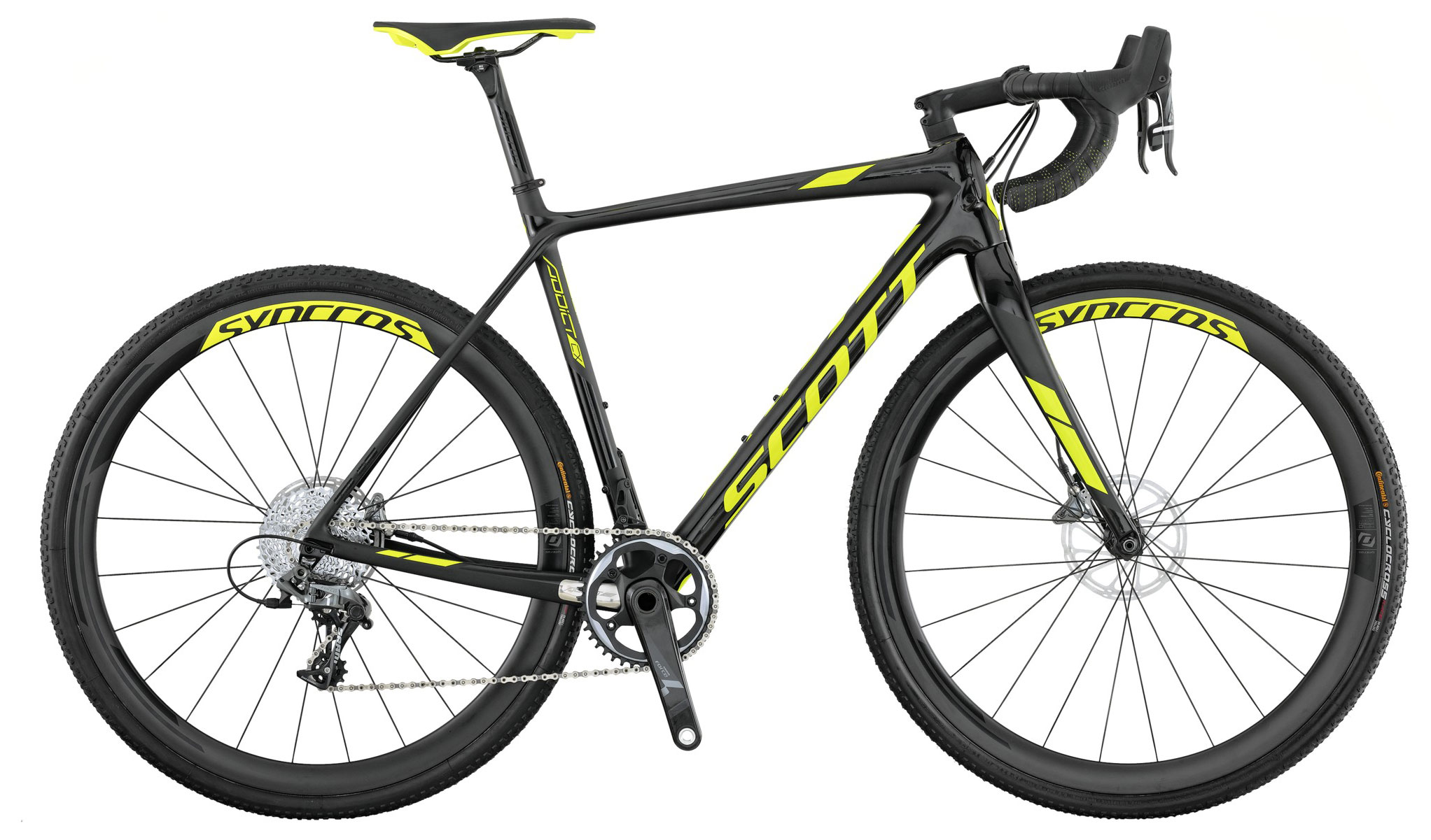 Велосипед Scott Addict CX 10 disc 2017