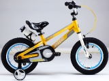 Велосипед Royal Baby Freestyle Space №1 Alloy 18 yellow (2019)